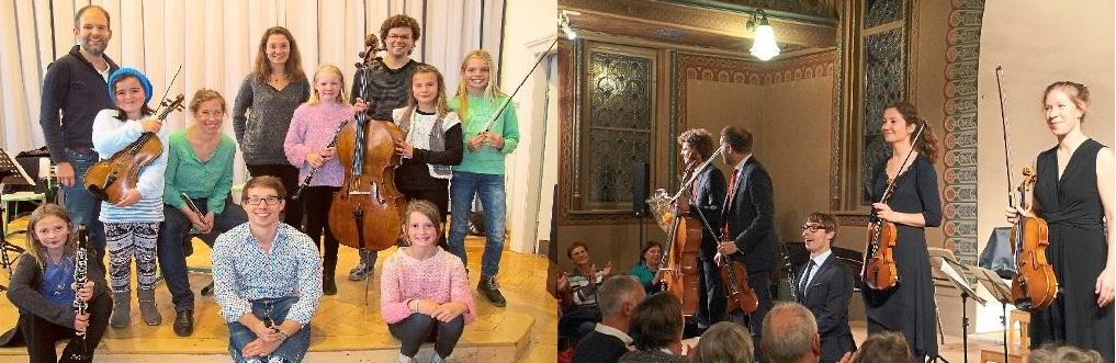 Besuch des Amaryllis-Quartetts